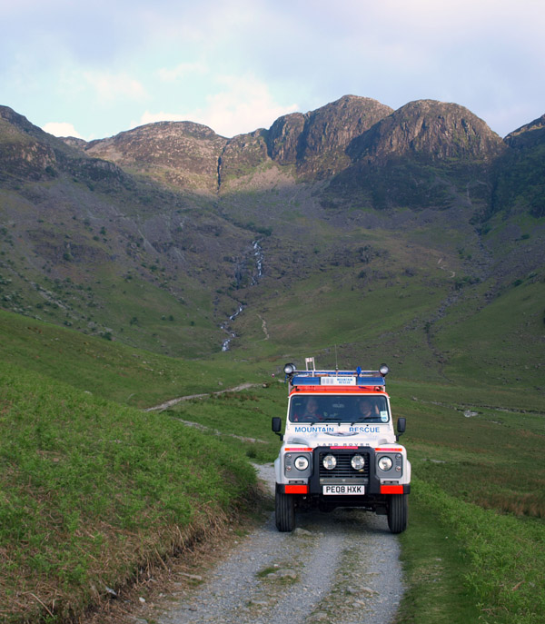 Cockermouth Mountain Rescue land rover